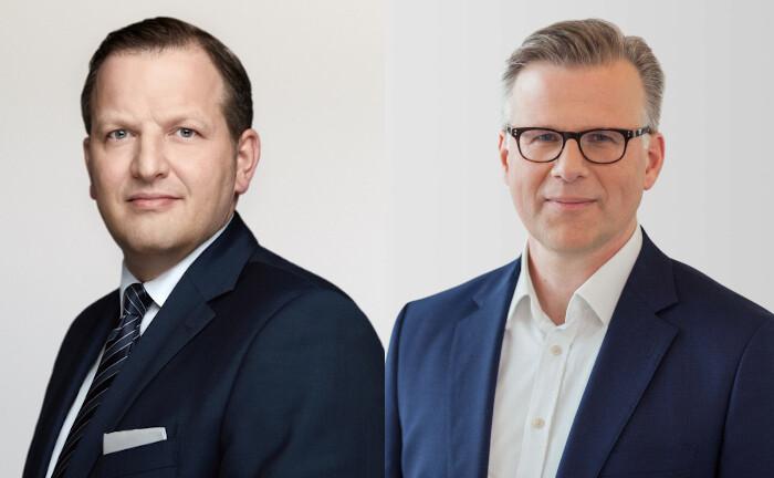 Matthias Weber (li.) und Axel Drwenski
