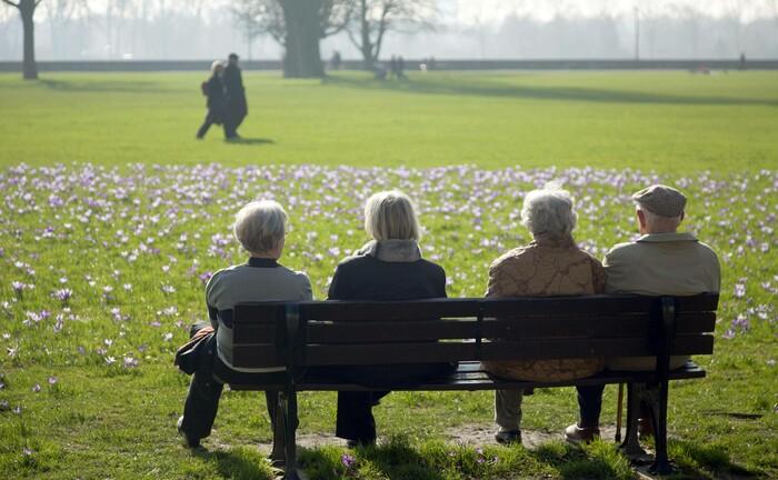 Senioren in Düsseldorf