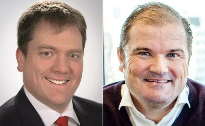 Professor Gösta Jamin und Fintech-as-a-Service-Berater Daniel Tenbrink
