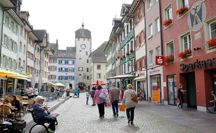 Die Altstadt von Waldshut-Tiengen