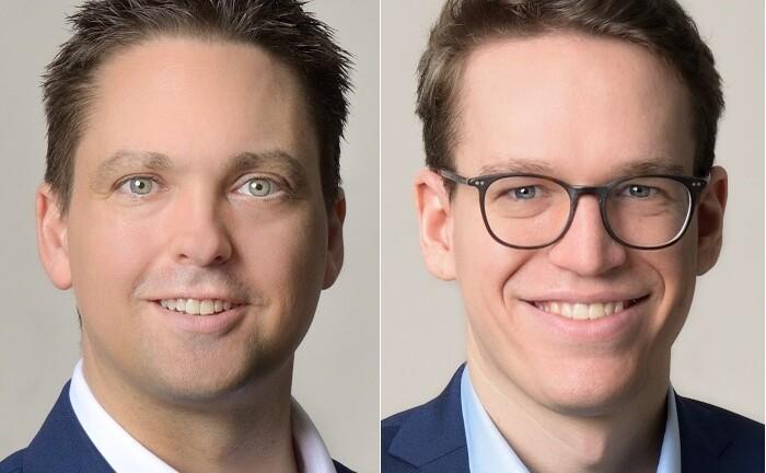 Patrick Alm (l.) und Fabian Richter