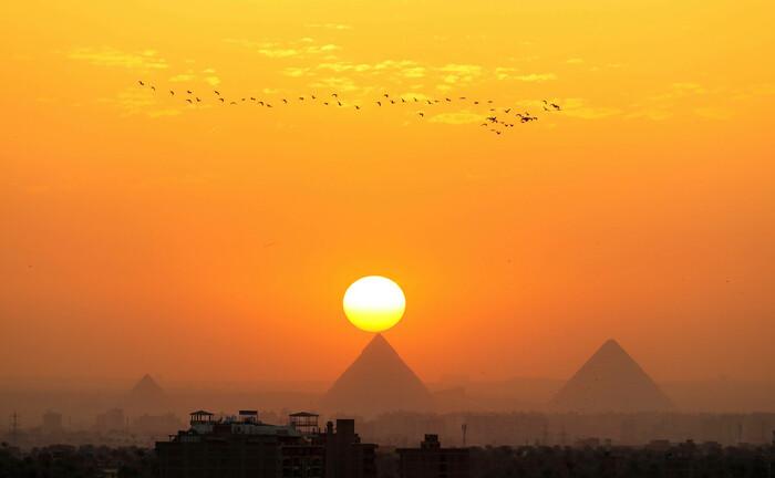 Pyramiden in Ägypten: Das Schwellenland gab 2020 erstmals grüne Anleihen aus|© Imago Images / Xinhua