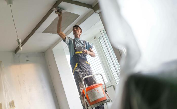 Renovierungsarbeiten in einer Wohnung