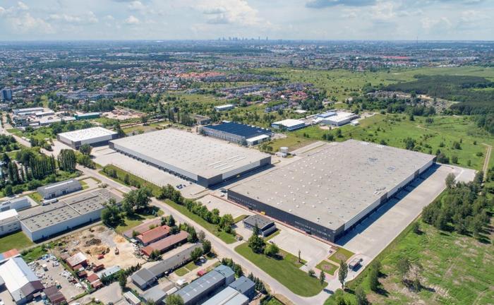 Der Hillwood Marki Logistikpark in Polen