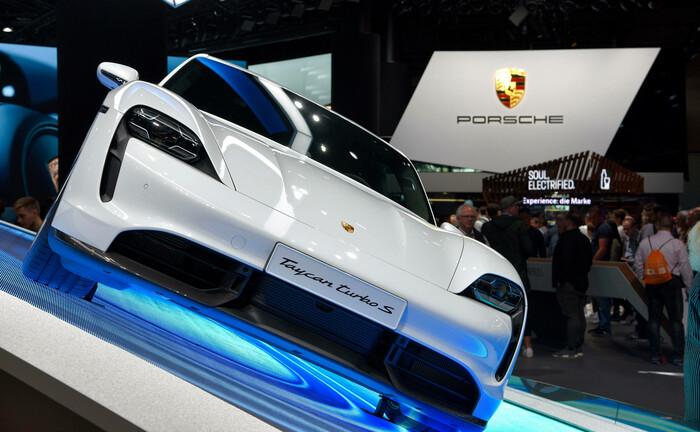 Ein Porsche Taycan