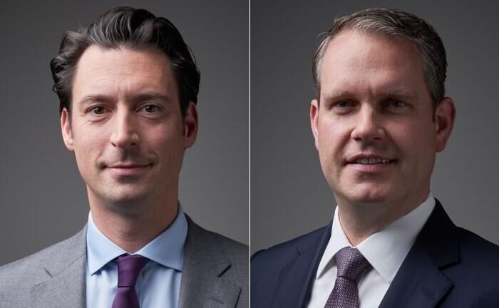 Luka Bajec (li.) und Volker Pengel vom Hamburger Family Office Tertium