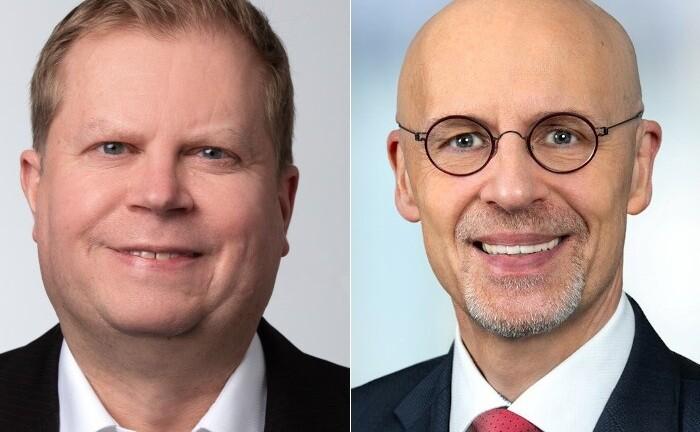 Jörn Matthias Häuser (l.) und Wolfram Peters