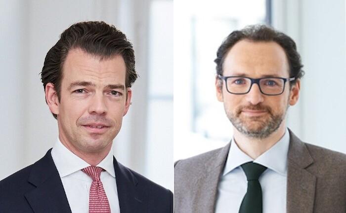 Michael Tommaso (r.) und Frank Schuck von der Kanzlei Noerr