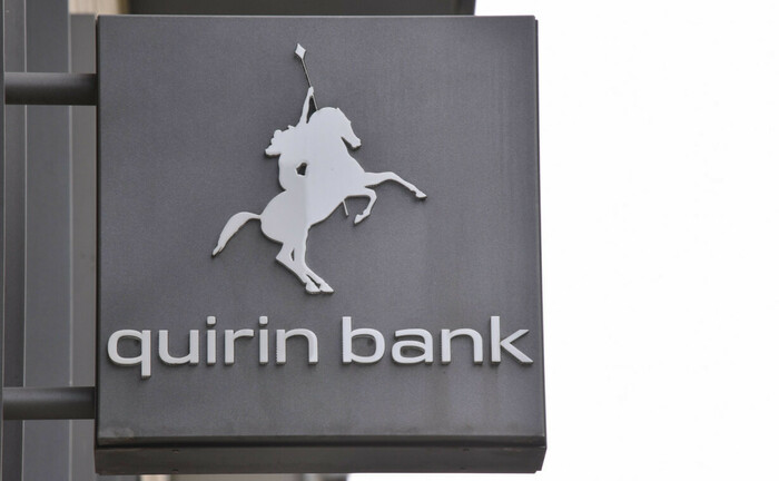 Logo und Schriftzug der Quirin Privatbank