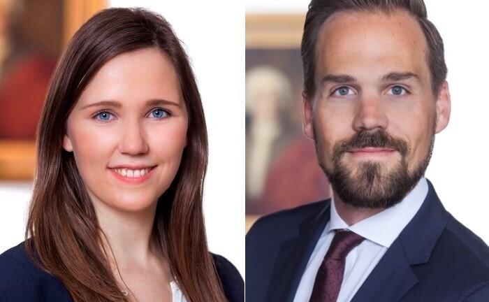 Anna Prigge und Michael Kreibich von der Berenberg Bank