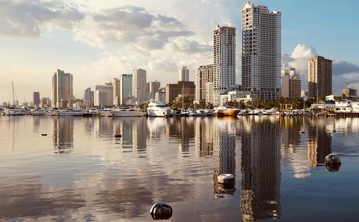 Manila, die Hauptstadt der Philippinen