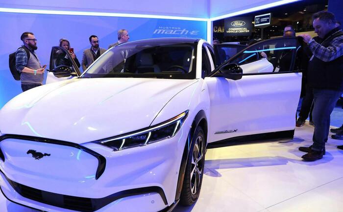 Elektrischer Ford Mustang