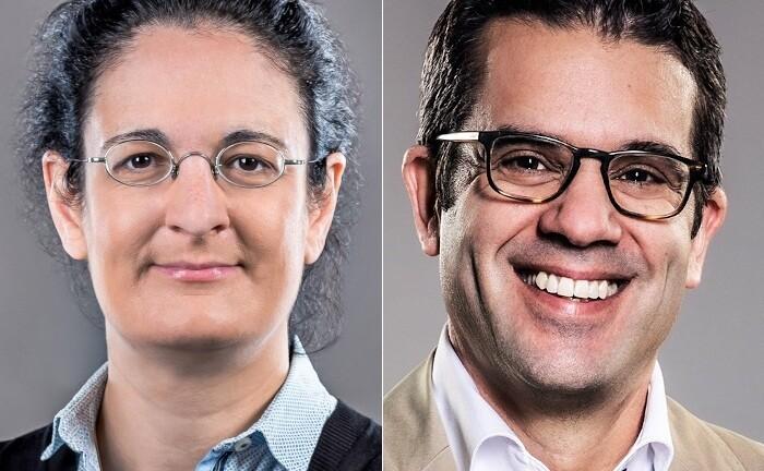 Anna Izzo-Wagner und Peter Frey von der Annerton Rechtsanwaltsgesellschaft