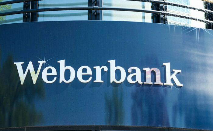 Weberbank-Filiale in Berlin