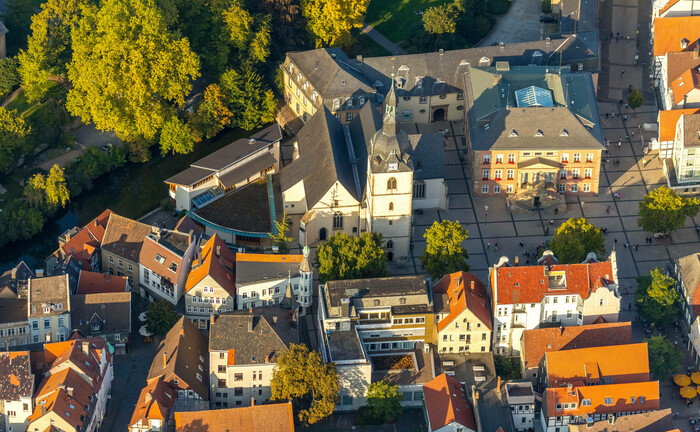 Die Innenstadt von Detmold