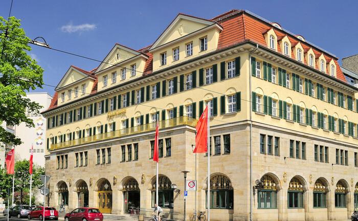 Sitz der Ostsächsischen Sparkasse Dresden am Güntzplatz
