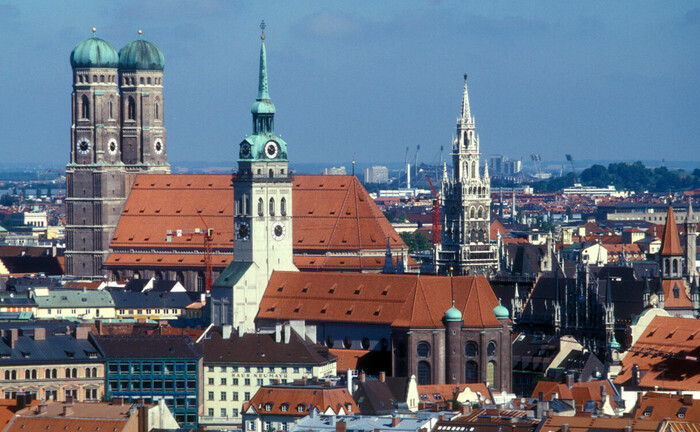 Ansicht der Münchner Innenstadt