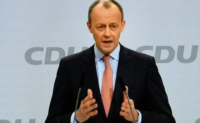 Friedrich Merz auf dem CDU-Parteitag 2021