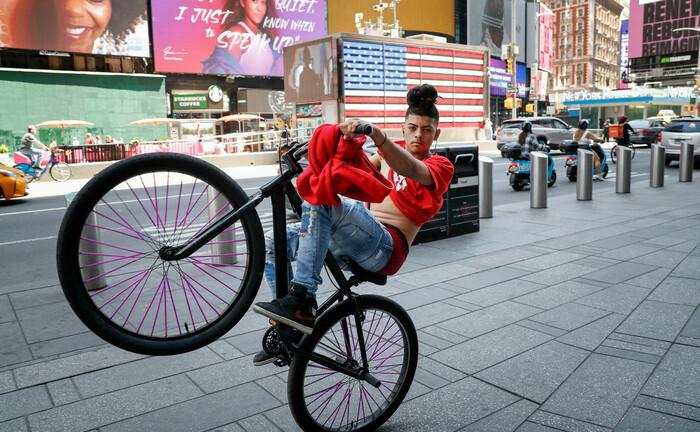 Entspannter Zeitvertreib in New York