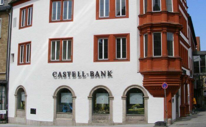 Zentrale der Fürstlich Castell'schen Bank in Würzburg