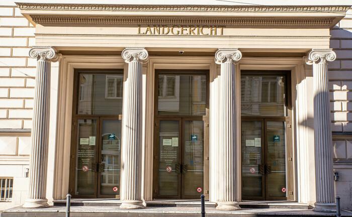Eingang zum Landgericht in Bonn