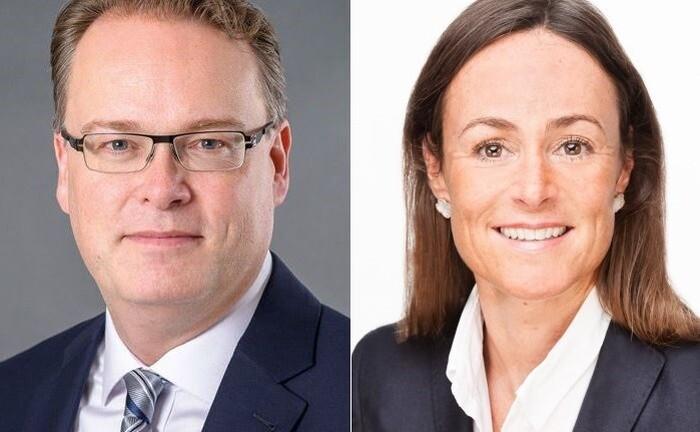 Hans-Joachim von Wirth und Kerstin Norden