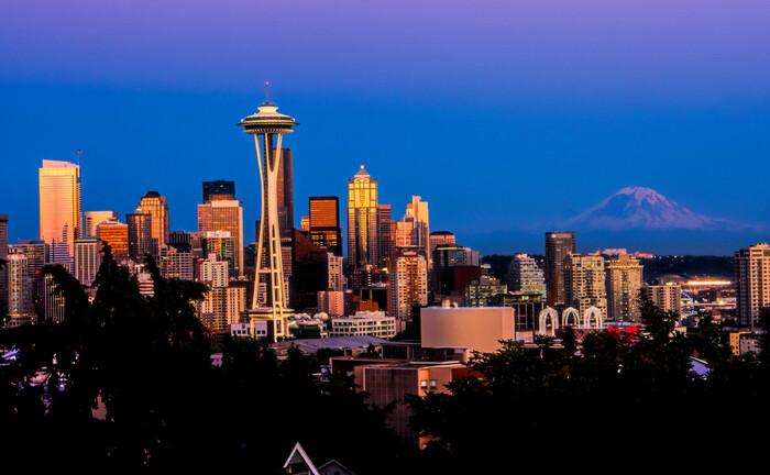 Skyline von Seattle, USA