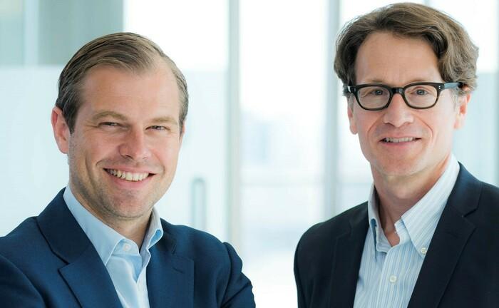 Ulrik Fugmann (links) und Edward Lees, BNPP AM