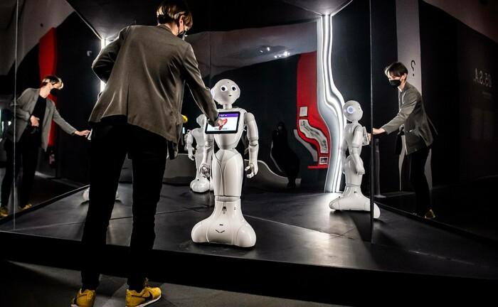 Roboter im Mailänder Museum der Kulturen