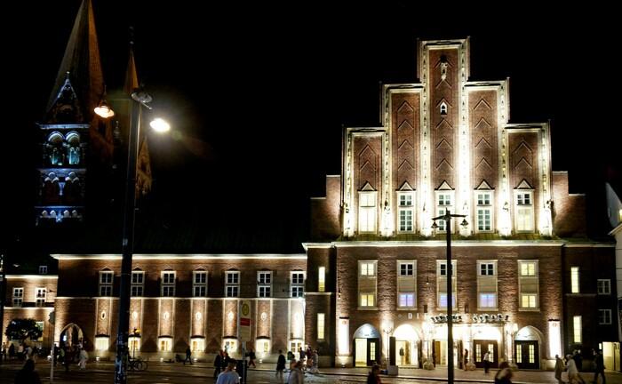 """Das Konzerthaus """"Die Glocke"""" in Bremen"""