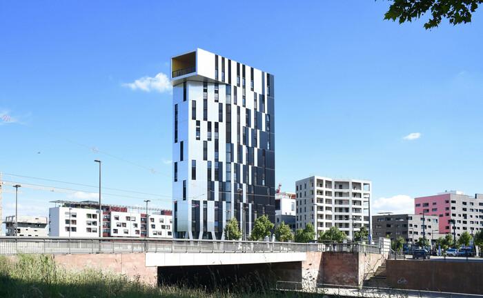 Ein klimapositives Hochhaus im französischen Staßburg
