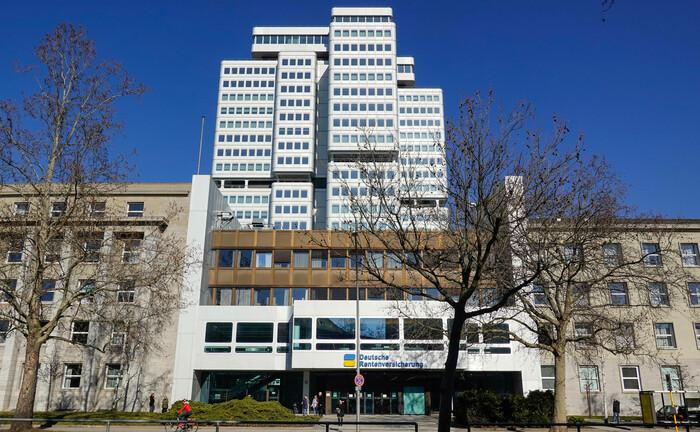 Die Zentrale der Deutschen Rentenversicherung in Berlin