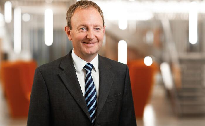 Mark Versey, Geschäftsführer von Aviva Investors treibt den Geschäftsumbau voran
