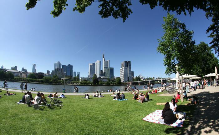 Sommerstimmung in Frankfurt am Main