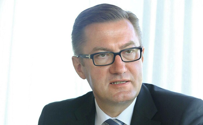 Thomas Katzenmayer, der Vorstandsvorsitzende der Evangelischen Bank