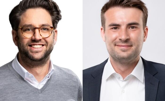 Harald Brock (l.) und Carsten Graßhoff