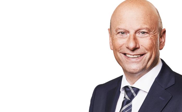 Holger Mai, Geschäftsführer der Frankfurter Bankgesellschaft