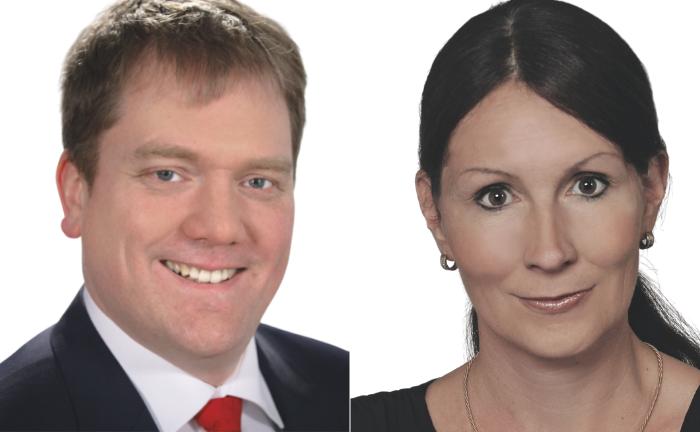 Gösta Jamin (l.) und Stefanie Hehn: Sie lehren an der Hochschule für Wirtschaft und Gesellschaft Ludwigshafen am Rhein.|© Gösta Jamin / Stefanie Hehn