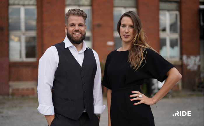 Gründerduo Felix Schulte und Christine Kiefer, RIDE  GmbH