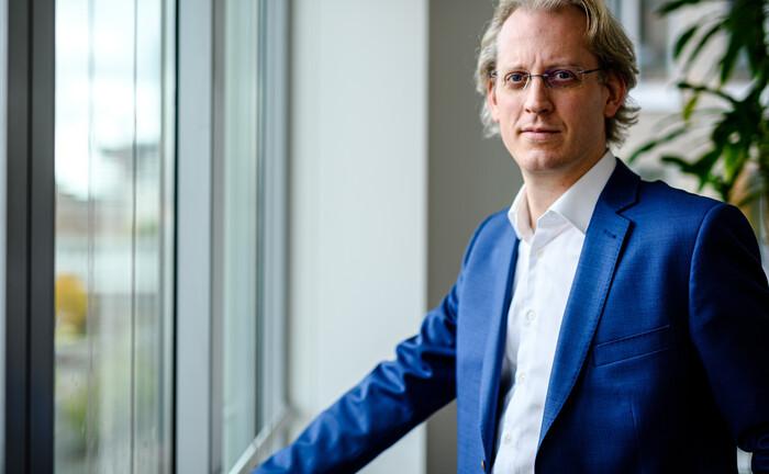 Arnaud Ahlborn ist einer von zwei Geschäftsführern der Industria Wohnen