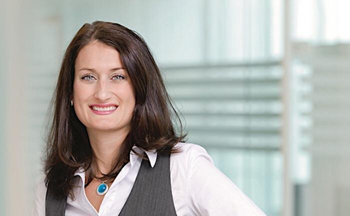 Vertriebsfrau Janina Maschke: Bald bei der V-Bank