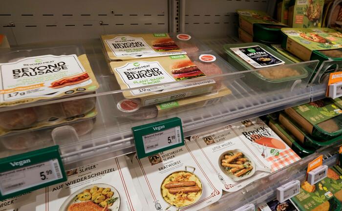 Fleischersatz im Kühlregal