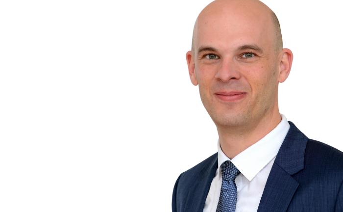 Mathias Prestenbach von der Volksbank im Bergischen Land: Er übernimmt das Private Banking.|© Volksbank / Bettina Osswald