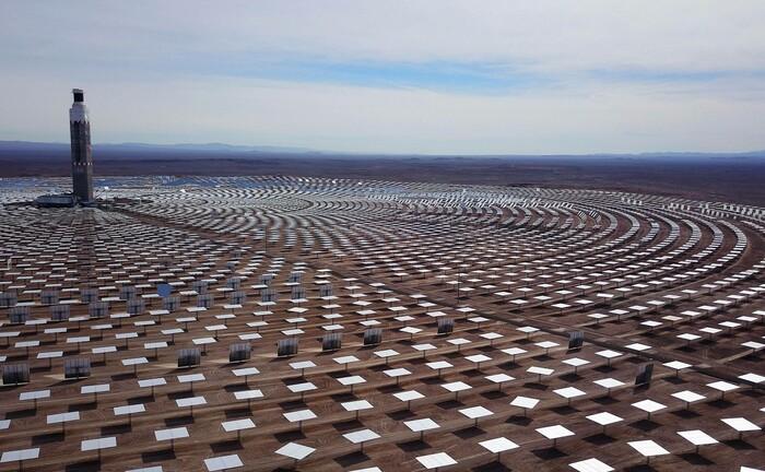 Solarkraftwerk in der Region Antofagasta im Norden von Chile