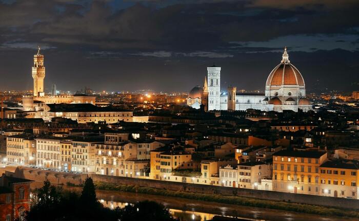Florenz, die Hauptstadt der italienischen Region Toskana