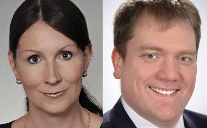 Gösta Jamin (l.) und Stefanie Hehn