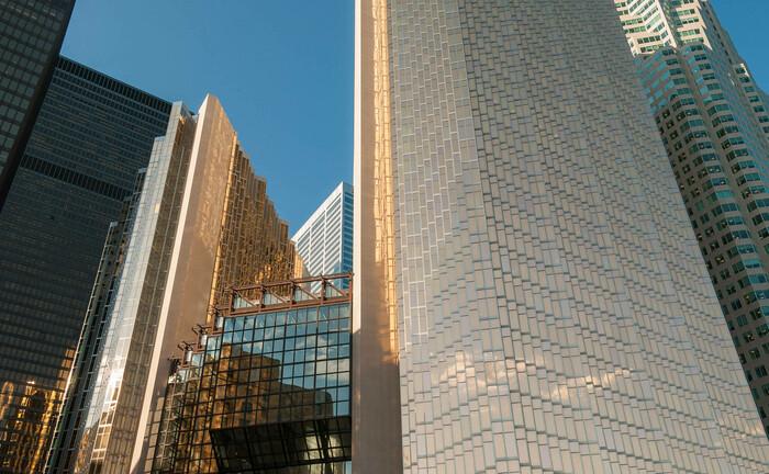 Moderne Skyline in Toronto