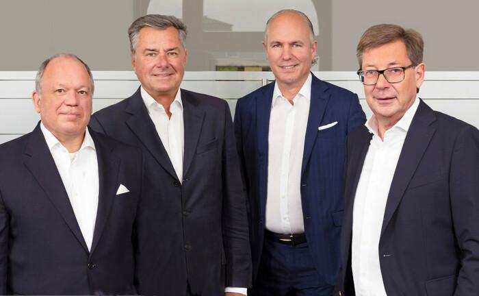 Mitglieder des Beirats des Vermögensverwalters Habbel, Pohlig & Partner (v.l.n.r.)
