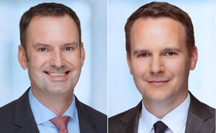 Timo Klett (l.) und Martin Möller von HQ Trust