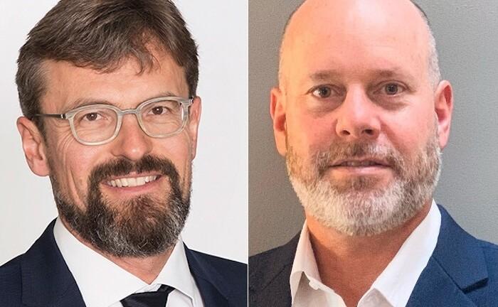 Martin Jufer (l.) und Sean O'Driscoll von GAM